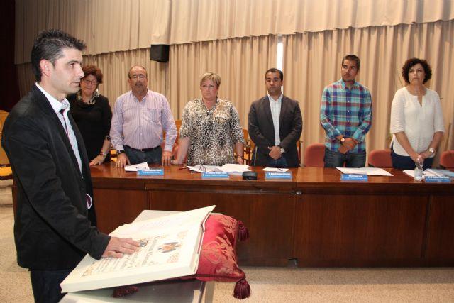 Jerónimo Gázquez toma posesión como concejal de Comercio, Industria y Pymes en el Ayuntamiento de Puerto Lumbreras - 1, Foto 1