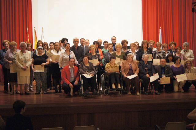 M�s de 60 voluntarios y varias empresas colaboradoras reciben un reconocimiento en el acto conmemorativo del 25 aniversario de la asociaci�n Salus Infirmorum, Foto 1
