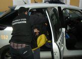 La Guardia Civil detiene a cuatro personas por sustraer material met�lico en Mazarr�n y Alhama de Murcia
