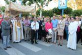 La antigua Patrona de Murcia, la Virgen de la Arrixaca, visita durante cuatro días el municipio de Archena