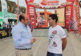 Apertura de la zona Paddock  del Campeonato Mundial de Enduro que comienza mañana en Puerto Lumbreras