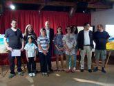 El murciano Carlos Montero gana el premio 'Villa de San Javier' en el II Certamen de Nacional de Pintura al Aire Libre