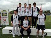 El club atletismo Mazarrón arrasa con 12 medallas regionales