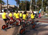 El PDM reúne a todos los alumnos de 3° y 4° de ESO en una jornada deportiva en la playa
