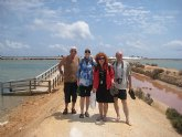 Periodistas checos visitan los principales enclaves turísticos de San Pedro del Pinatar