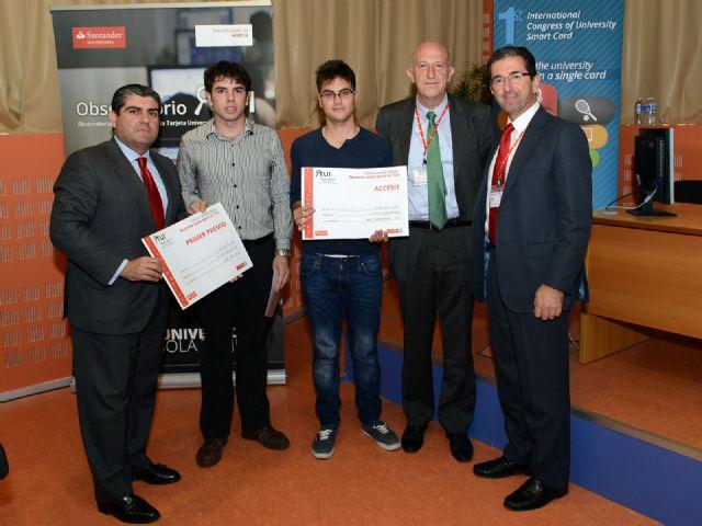 Hoy finaliza el I Congreso Internacional de Tarjeta Universitaria Inteligente en Murcia - 2, Foto 2