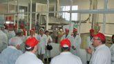 Coato pone en marcha una nueva instalacion para freir almendra y otros frutos secos