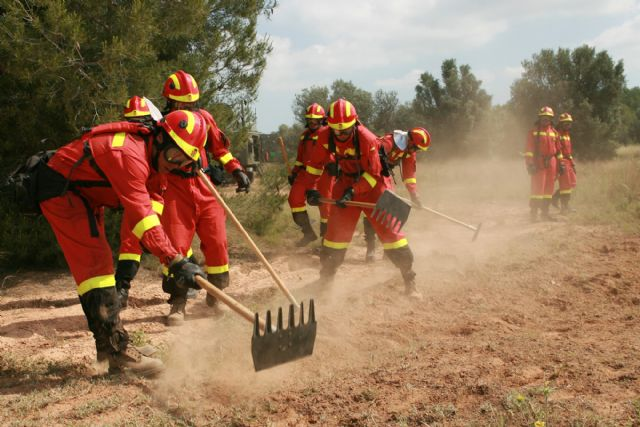 Military Emergency Unit performs this next week an exercise instruction Espuña Regional Park, Foto 2