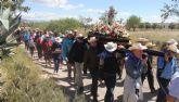 Más de 500 lumbrerenses festejan la primera Romería en honor a la Virgen del Carmen