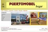 PuertoMobel Hogar cambia su antigua página web por una desarrollada con Superweb