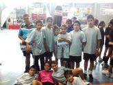 Los alevines del 'Ginés García' se alzan campeones regionales de fútbol sala en Deporte Escolar
