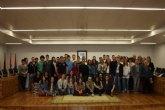 Recepción instititucional a alumnos de un proyecto comenius basado en la dieta mediterránea