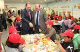 Más de 350 colegios y 54.000 alumnos de la Región participan este curso escolar en el desarrollo del 'Plan de Consumo de Frutas y Verduras'