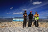 La Sierra de Carrascoy cuenta con un mirador inaugurado en la ruta senderista de Sendalhama por el parque regional