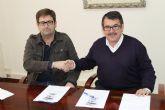 El Ayuntamiento  y la Asociaci�n de Comerciantes de Alhama firman un convenio de colaboraci�n