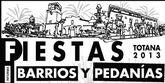 Festejos cierra el calendario de fiestas en los barrios y pedanías de Totana de este verano 2013, que se prolongarán de junio a octubre