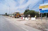 Se ejecutan las obras de la segunda fase del colector de saneamiento de la diputación de Lébor