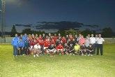 El equipo juvenil del Real Murcia vence a la selección senior de Escocia
