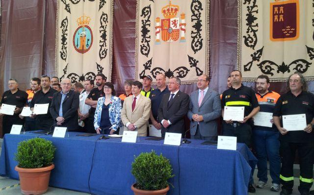 Los Ayuntamientos de Puerto Lumbreras, Caravaca, Totana, Águilas y Lorca unen sus fuerzas para futuras emergencias - 1, Foto 1