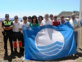 5 banderas azules ondearán este año en las playas de Mazarrón, una más que el año pasado