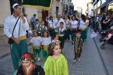 Con el desfile infantil y el pregón a cargo de Alfonso Gálvez dan comienzo las Fiestas de Moros y Cristianos de Archena