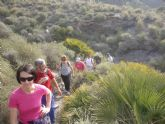 La concejalia de Deportes organizó una ruta de senderismo por la costa cartagenera