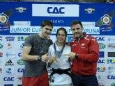 Olga Jiménez Plata en la Copa de Europa Júnior de la Coruña