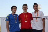 Alejandro Martínez del Club Atletismo Roldán obtiene la medalla de bronce en el Campeonato de España Cadete de Atletismo
