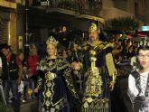 Unas 5.000 personas abarrotaron la avenida del Carril para presenciar el gran desfile parada de moros y cristianos de Archena