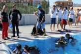 Alumn@s de 4° de la E.S.O. se inician en la práctica del buceo