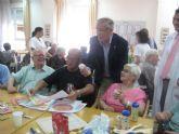 Jornada de convivencia de mayores en la residencia ORPEA