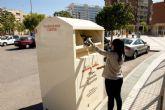 El Ayuntamiento aumenta el número de contenedores para la recogida de ropa, calzado y juguetes