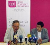 UPyD Murcia pide que la colaboración social cuente para la bolsa de trabajo del Servicio Murciano de Salud