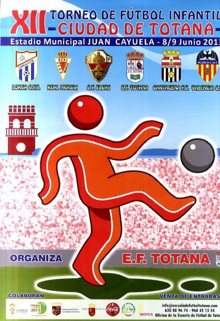 El XII Torneo de Fútbol Infantil Ciudad de Totana se disputa los días 8 y 9 de junio, Foto 2