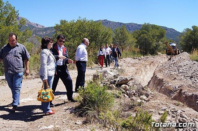 Entra en su última fase la ejecución de las obras del depósito de La Sierra, Foto 1