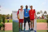 Ismael Belhaki consigue una medalla de bronce para Murcia en el Campeonato de España de Atletismo Cadete