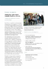 """El festival de cortos para la integración """"Andoenredando"""" destacado como ejemplo de integración de inmigrantes"""