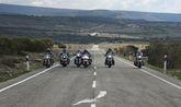 Un grupo de moteros del Custom Totana realizaron un viaje a Burgos, Bilbao y Segovia