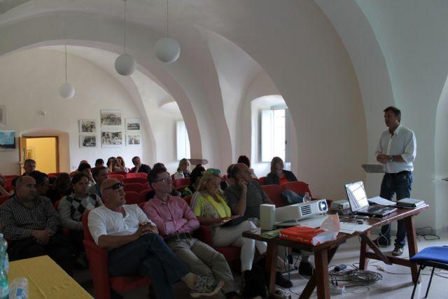 Bullas ratifica su hermanamiento con Bosa e intercambia experiencias con el resto de socios del Proyecto Vincult - 3, Foto 3