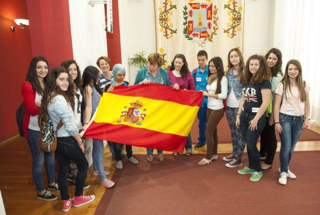 Misión cumplida de los jóvenes europeos en el Palacio Consistorial - 1, Foto 1