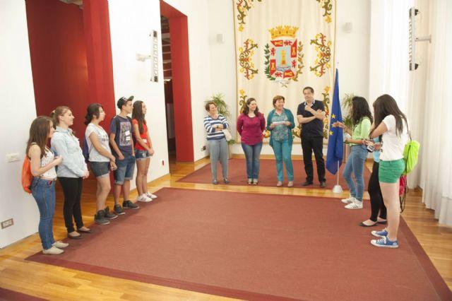Misión cumplida de los jóvenes europeos en el Palacio Consistorial - 2, Foto 2