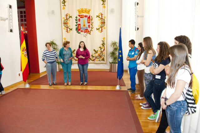 Misión cumplida de los jóvenes europeos en el Palacio Consistorial - 3, Foto 3