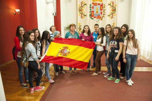 Misión cumplida de los jóvenes europeos en el Palacio Consistorial - 4, Foto 4