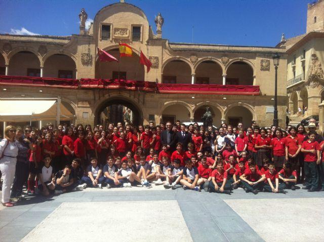 La Plaza de España acoge la tradicional celebración del Toque de Cabildos y Marcha de Ministriles - 2, Foto 2