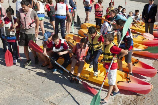 Arranca la campaña de piragüismo y vela escolar - 1, Foto 1