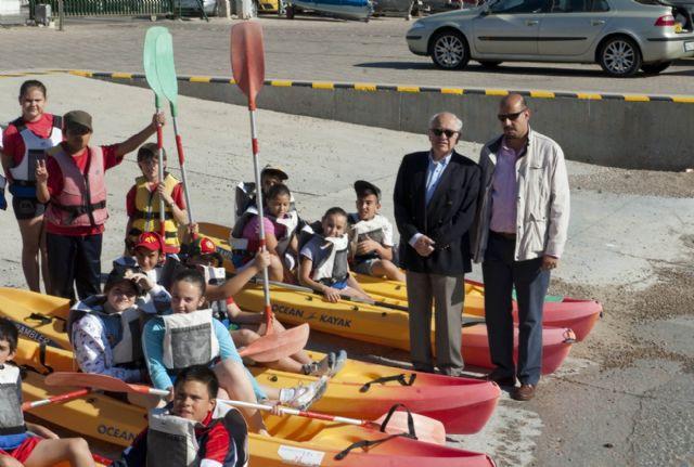 Arranca la campaña de piragüismo y vela escolar - 2, Foto 2