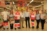Eroski Águilas colabora con Cruz Roja Española de la localidad en el Sorteo del Oro