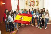 Misión cumplida de los jóvenes europeos en el Palacio Consistorial