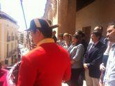 La Plaza de España acoge la tradicional celebración del Toque de Cabildos y Marcha de Ministriles