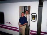 El alcalde de Águilas anuncia que Renfe retoma la conexión ferroviaria con Madrid